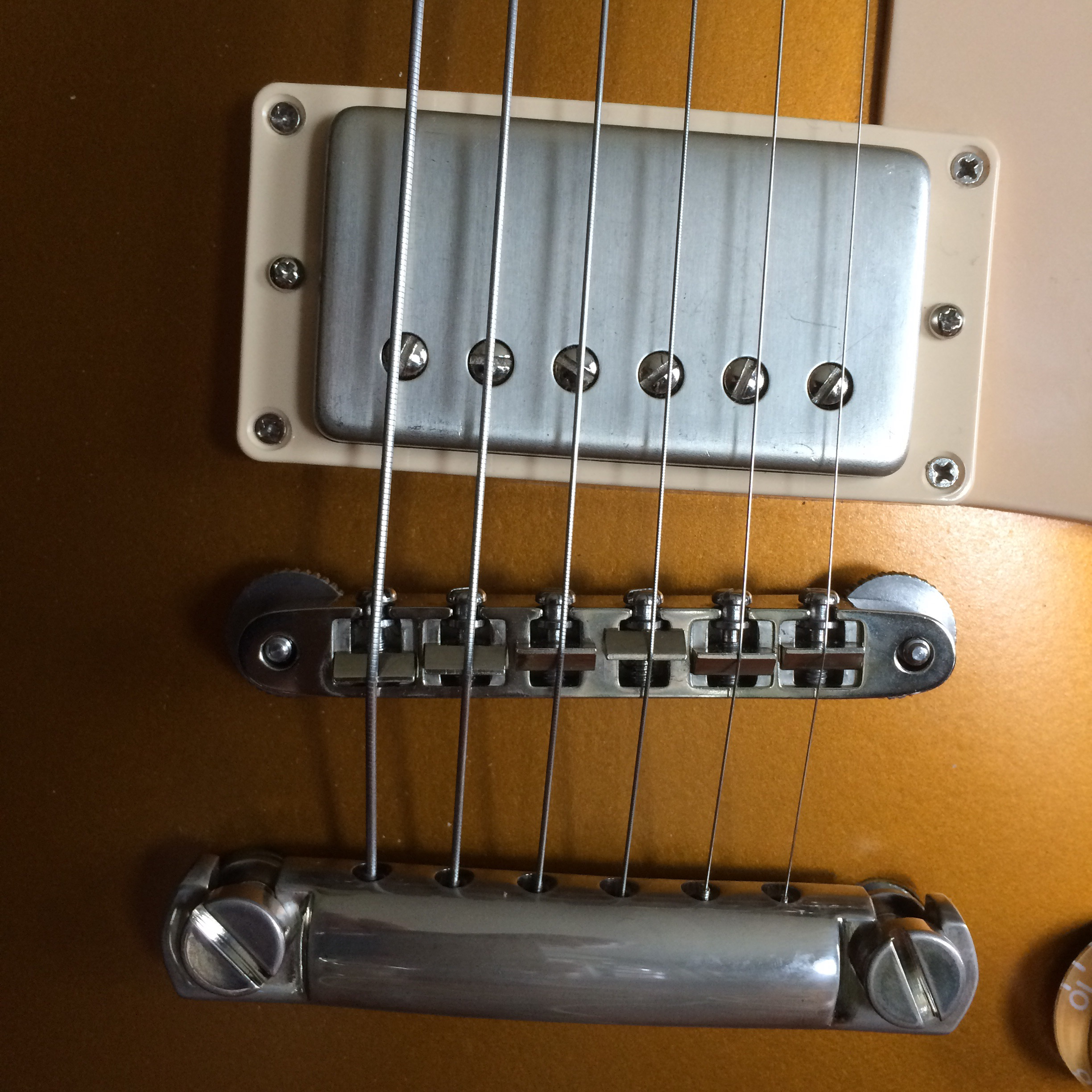 Guitars Queen City Guitar Epiphone Les Paul Custom Here Is An Example Of Modern And 50 S Wiring I Also Ended Up After Research Feeling The Need For Aluminum Stop Bar Tail Piece Just Like 50s Which Source From Kluson